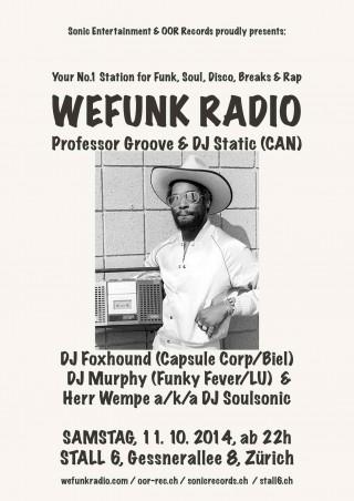 WeFunk Radio @ Stall 6