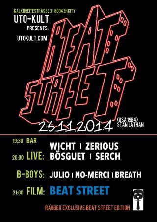 Beat Street @ Uto-Kult im Uto Kulm