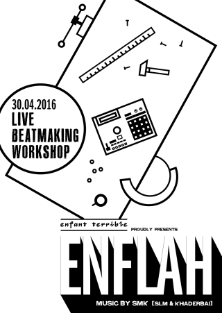 En Flah Beatmaker Workshop vom Samstag, 30.04.2016, ab 17 Uhr